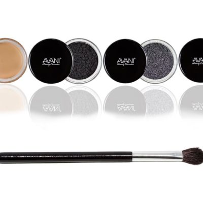 Smokey eyes eye shadow & lip/eye primer bundle