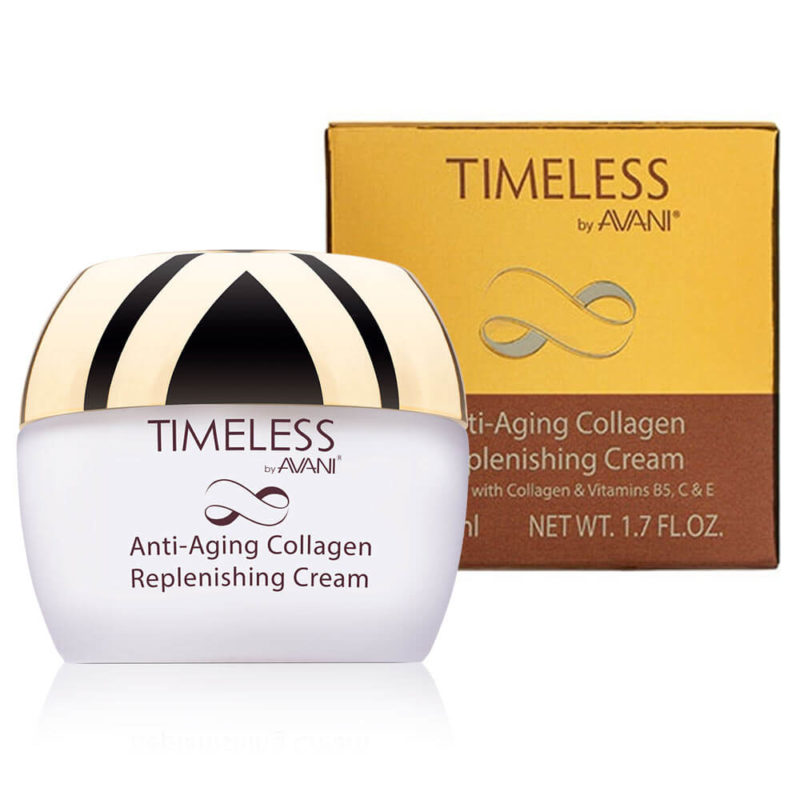 Anti-aging collagen replenishing cream