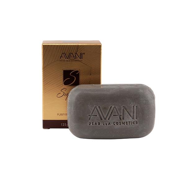Purifying mud soap