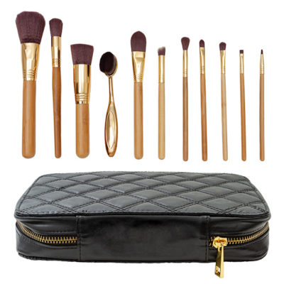 High end bamboo brush set (11 pcs)