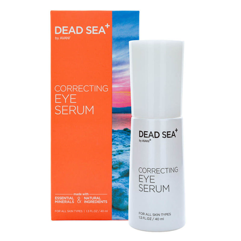 Correcting eye serum