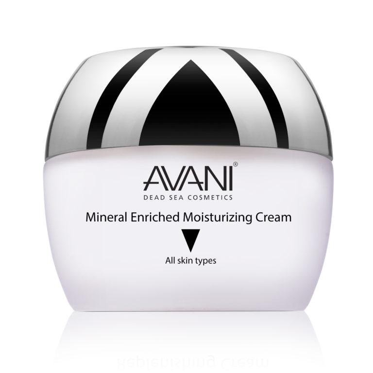 Mineral enriched moisturizing cream