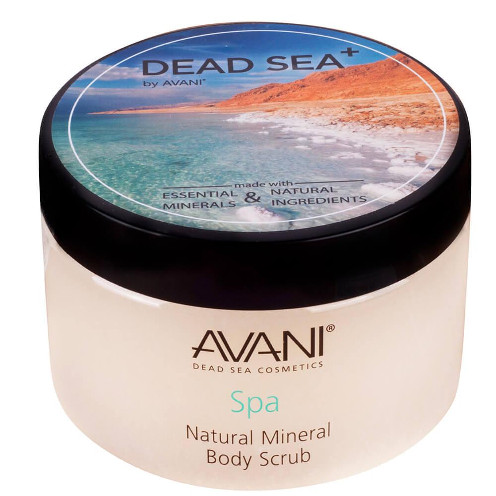 Natural mineral body scrub